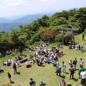 サムネイル画像:第33回「日山(天王山)」山開きイベントが開催されます
