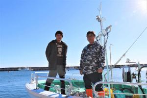 サムネイル画像:浪江ブランド「請戸もの」を支える漁師たち